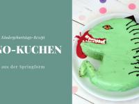 Dino-Kuchen-Rezept: Jetzt wird's laut!