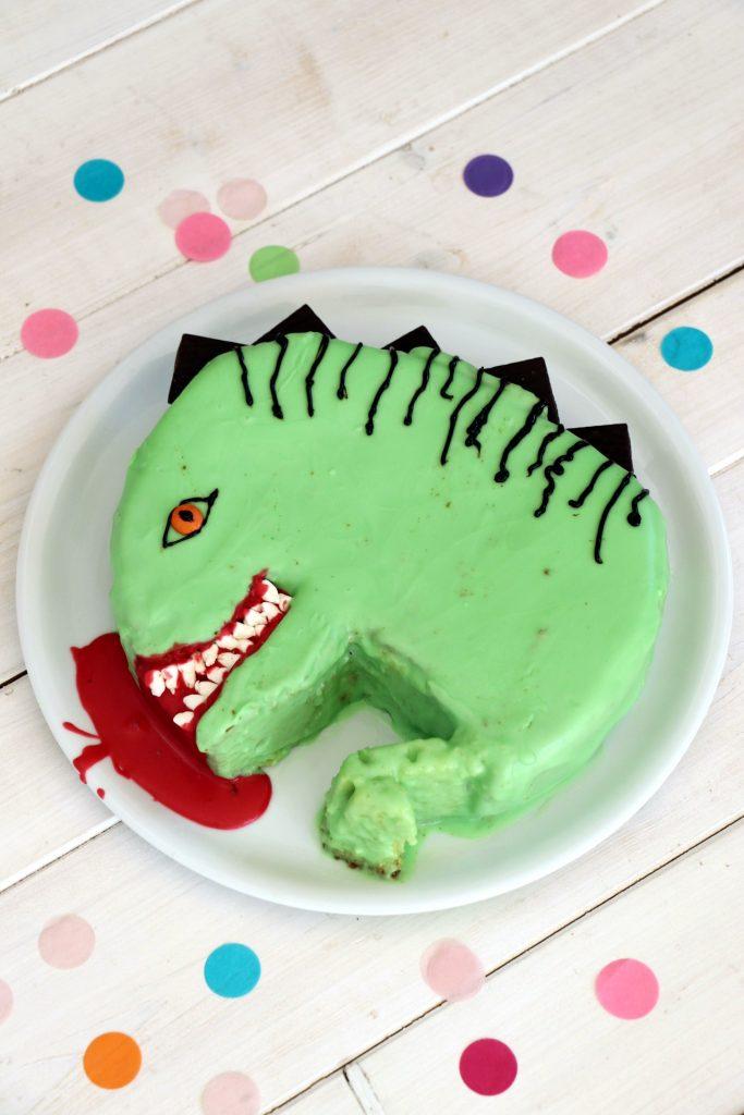 Rezept Dino-Kuchen Springform