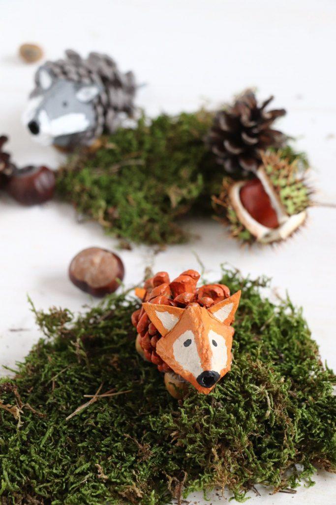 Zapfen-Tiere Fuchs