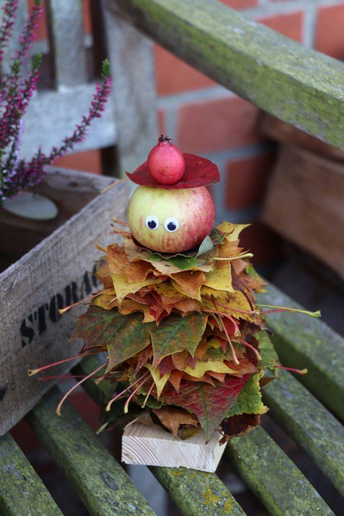 DIY Herbst Blättermännchen
