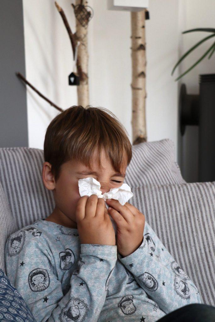 Hausstaubmilbenallergie Kinder