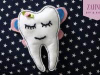 Besuch von der Zahnfee: DIY für Filzzahn
