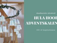 DIY: Hula Hoop Adventskalender basteln