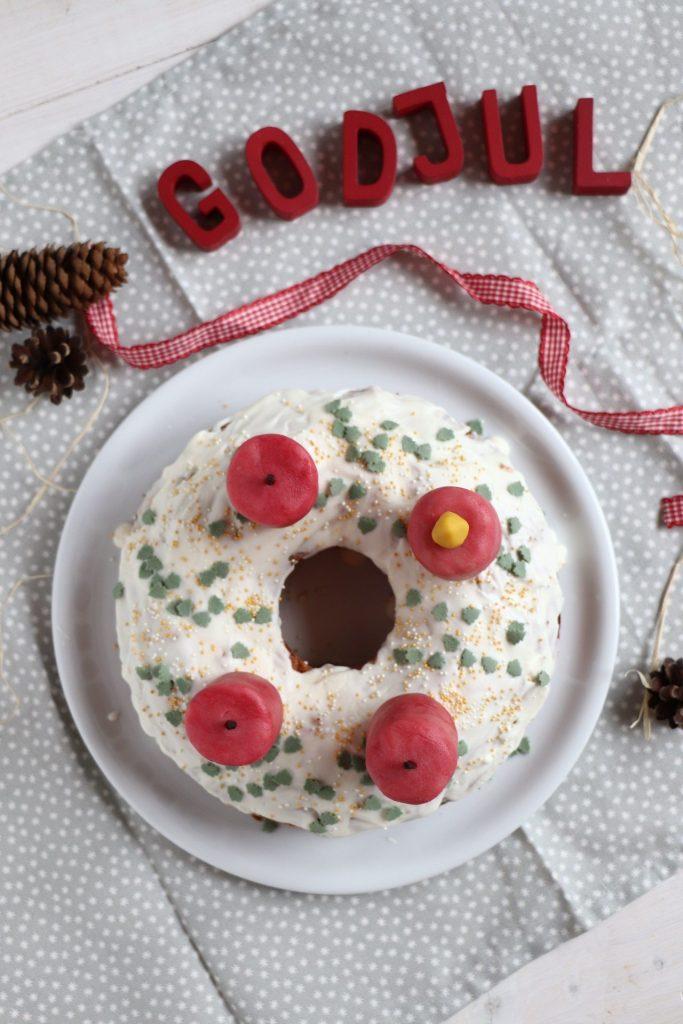 Adventskranz Kuchen Rezept