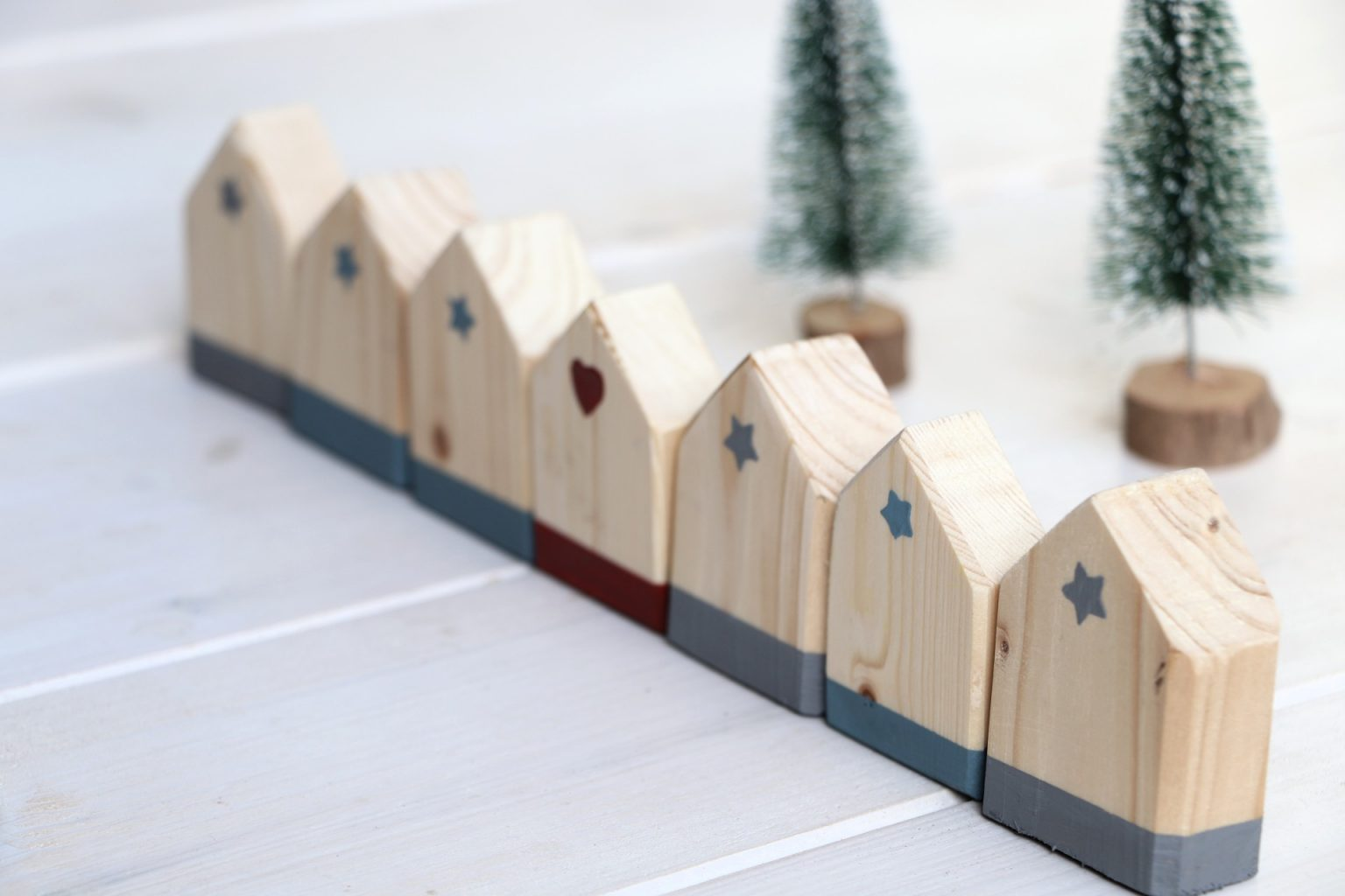 DIY Holzhäuser basteln