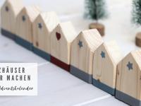 DIY: Holzhäuser basteln