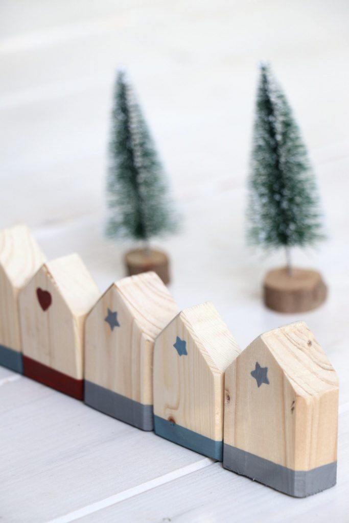 Dekohäuser Holz