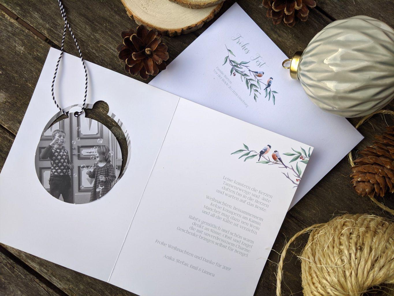 Weihnachtskarten bestellen sendmoments