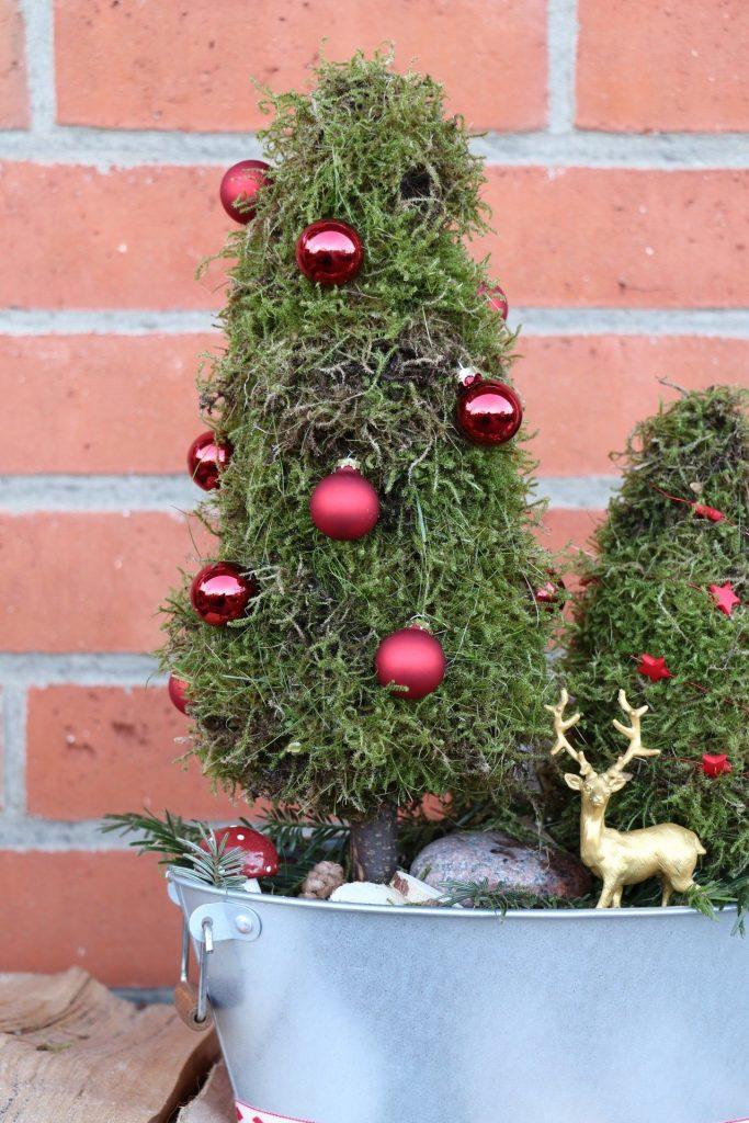 Bäume aus Moos DIY