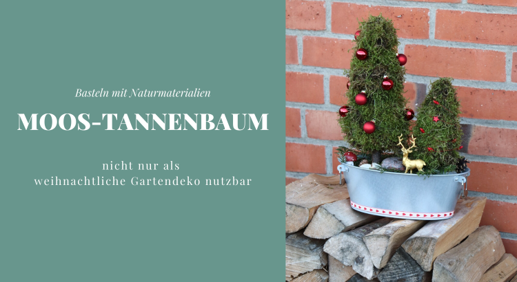 Bastelidee Moos Tannenbaum