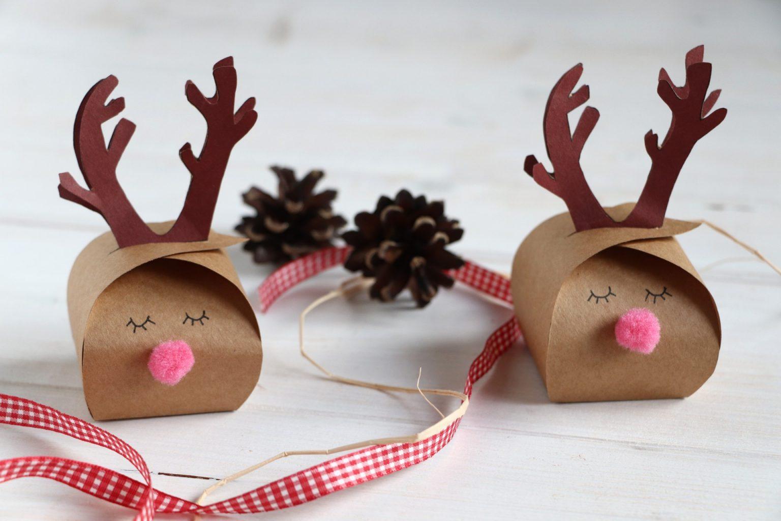 Geschenkbox Weihnachten DIY