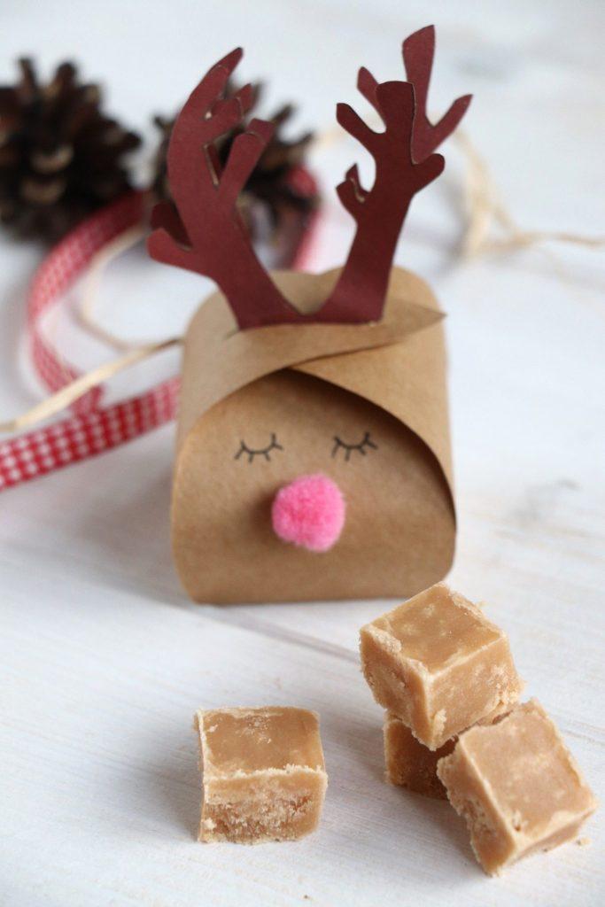 Geschenkschachtel Weihnachten DIY