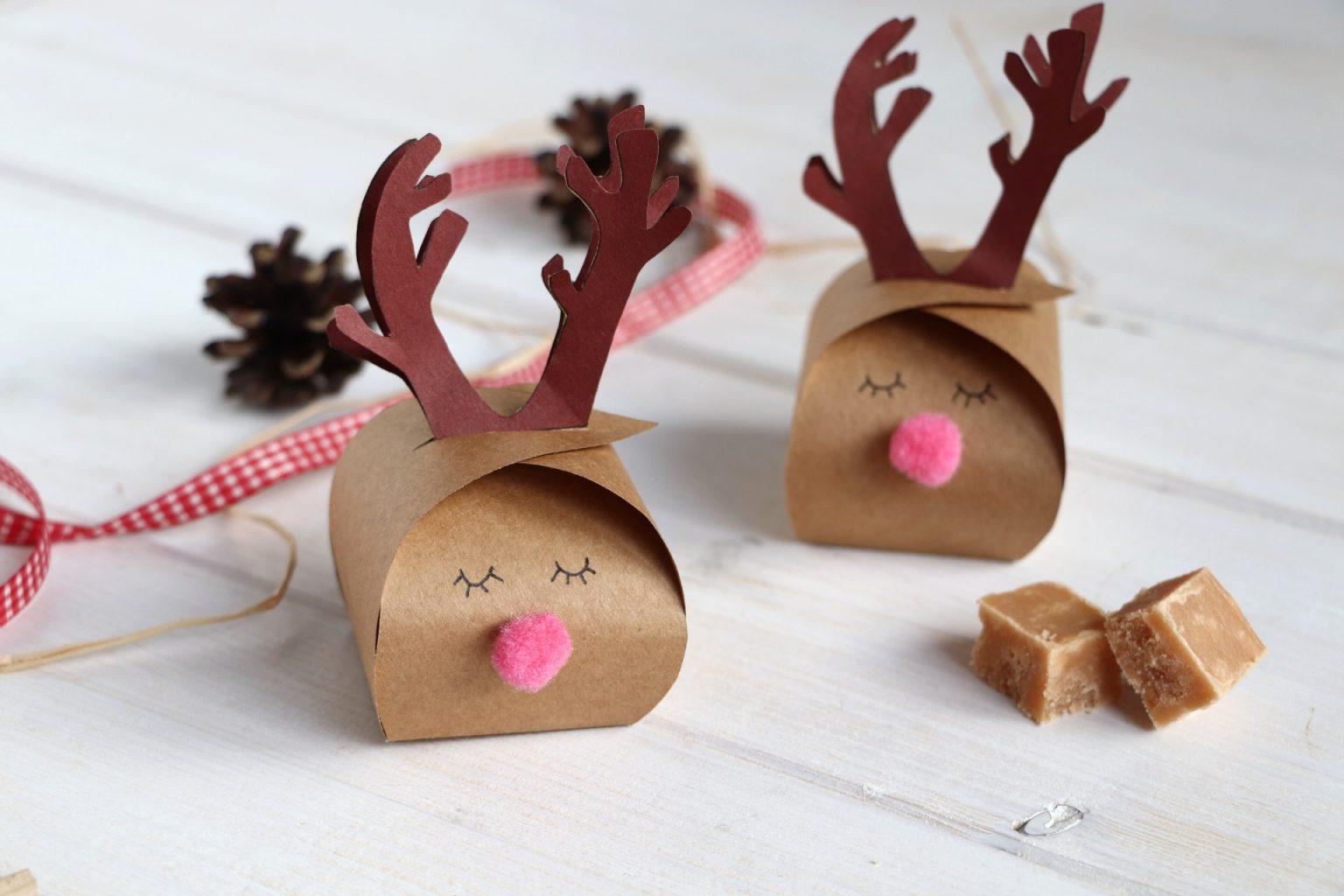 Geschenkschachtel falten DIY