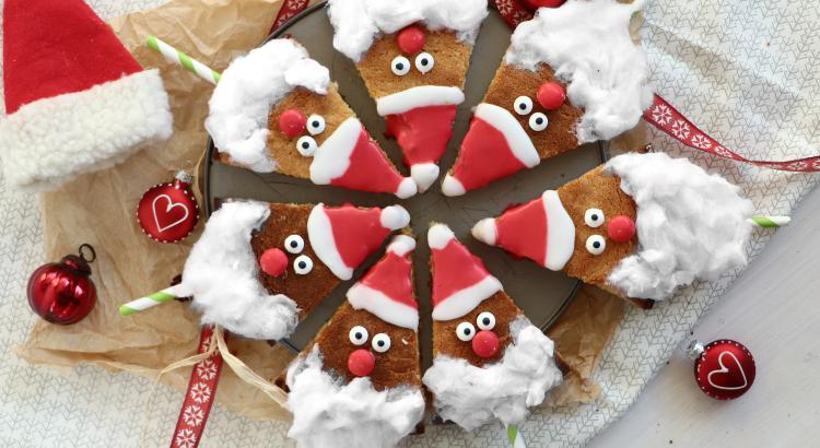 Weihnachtsmann-Kuchen Rezept