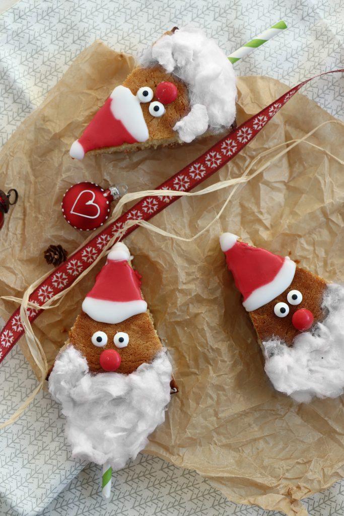 Weihnachtsmann-Kuchen backen