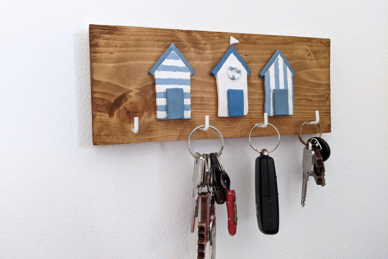 DIY Schlüsselbrett selber bauen Idee