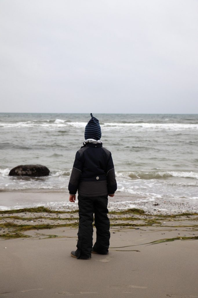 Fehmarn schönster Strand im Winter