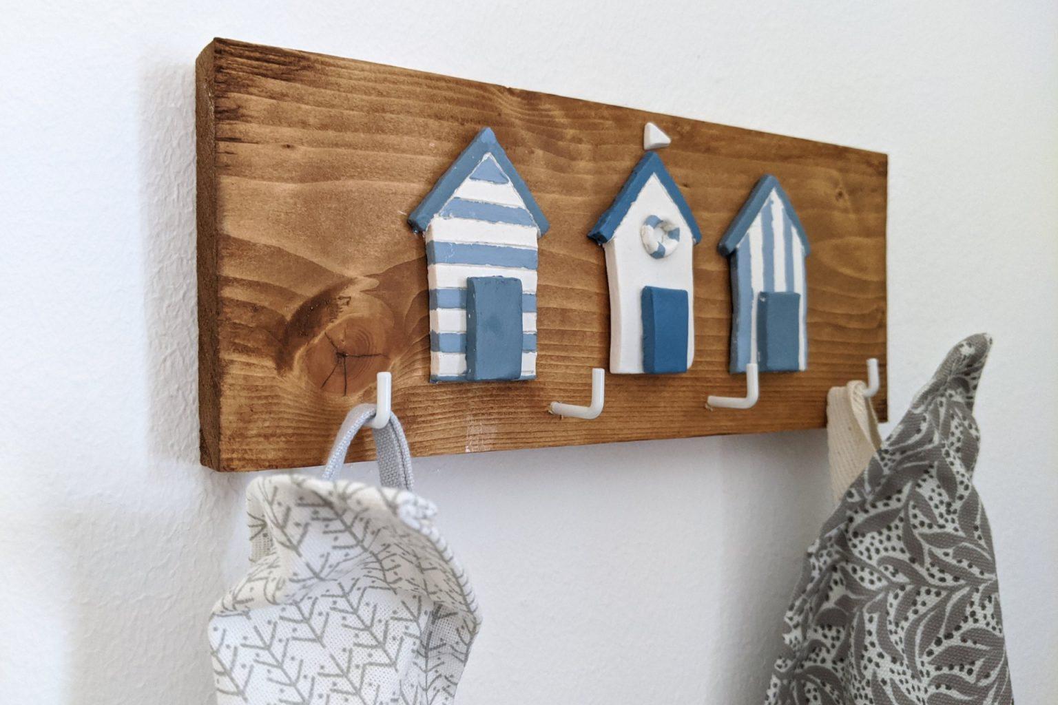 Handtuchhalter selber bauen DIY