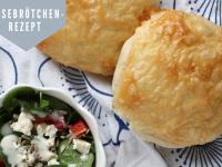 Rezept: Käsebrötchen wie vom Bäcker