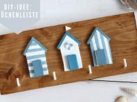 DIY: Küchenleiste oder Schlüsselbrett selber machen
