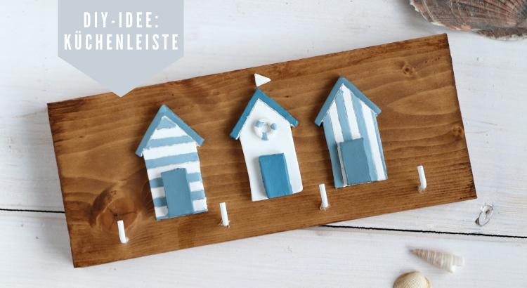 Küchenleiste DIY Modelliermasse