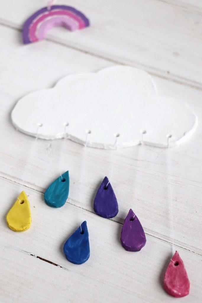 Modelliermasse DIY Wolke