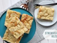 Rezept: Streuselkuchen vom Blech (inkl. 2 Variationen)