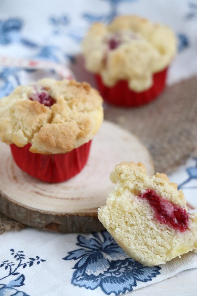 Rezept Käsekuchen-Muffins mit Streuseln