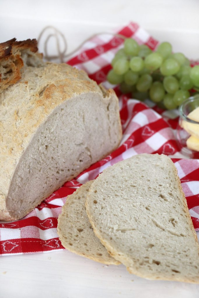 Brot backen Rezept Mischbrot