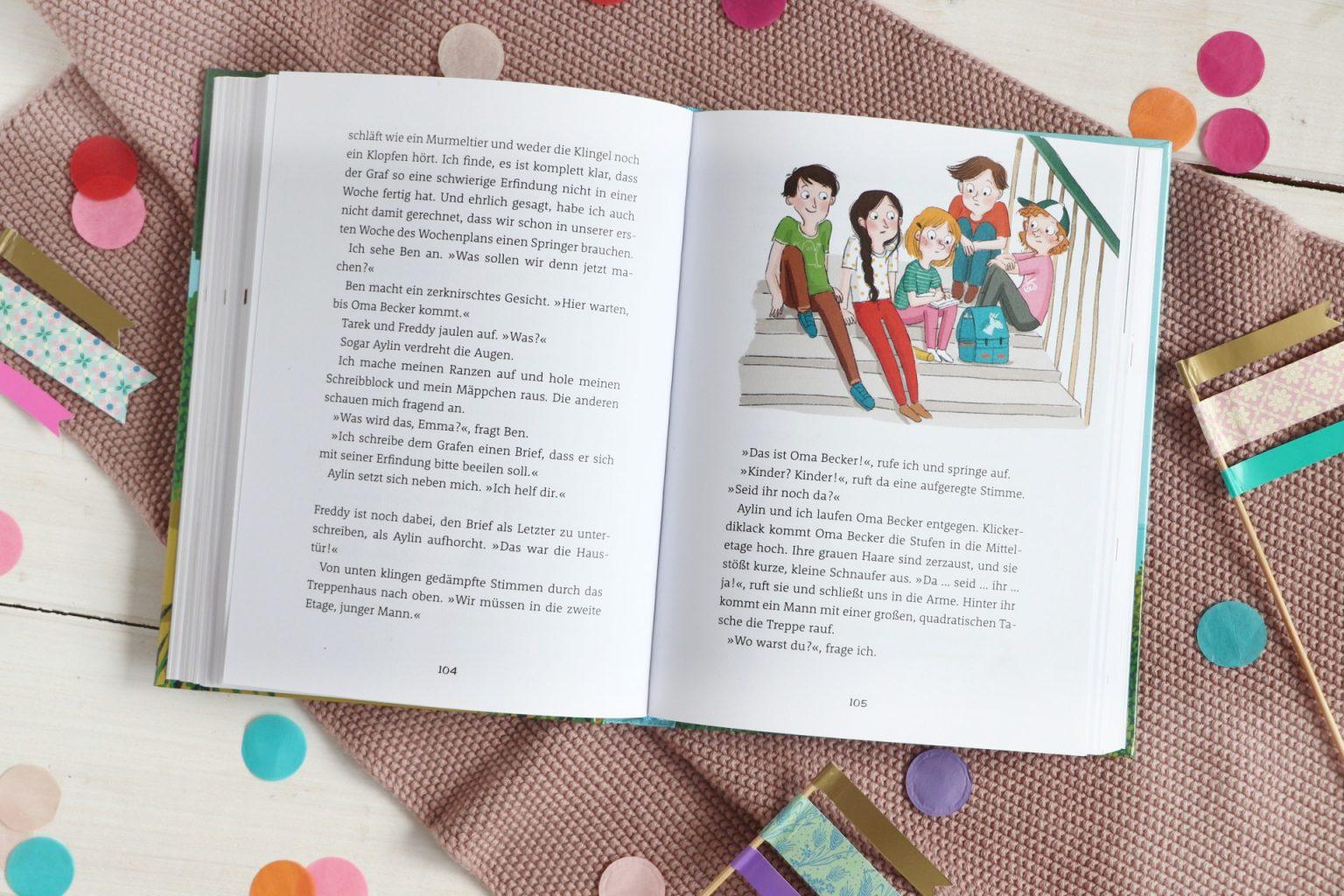 Kinderbuch Empfehlung Familie Flickenteppich Band 2