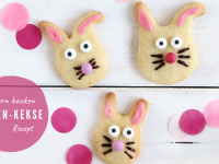 Rezept: Hasen-Kekse backen zu Ostern
