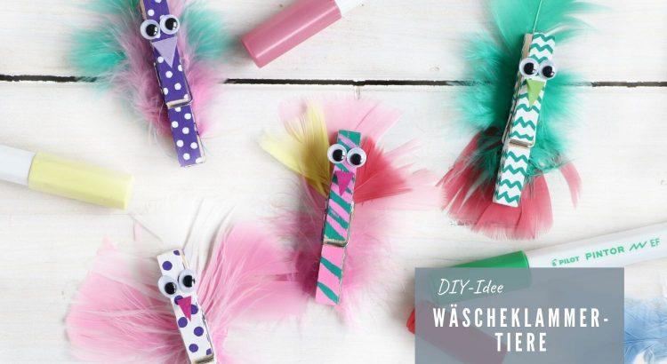 DIY Wäscheklammer-Tiere