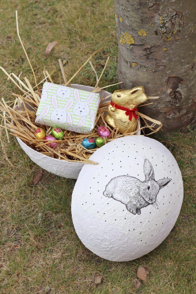 Osternest Ei