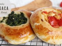 Vegetarische Pogaca selber machen - Rezept inkl. drei Füllungen