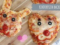 Kinderpizza backen: Lustige Pizza-Tiere und Pizza-Gesichter