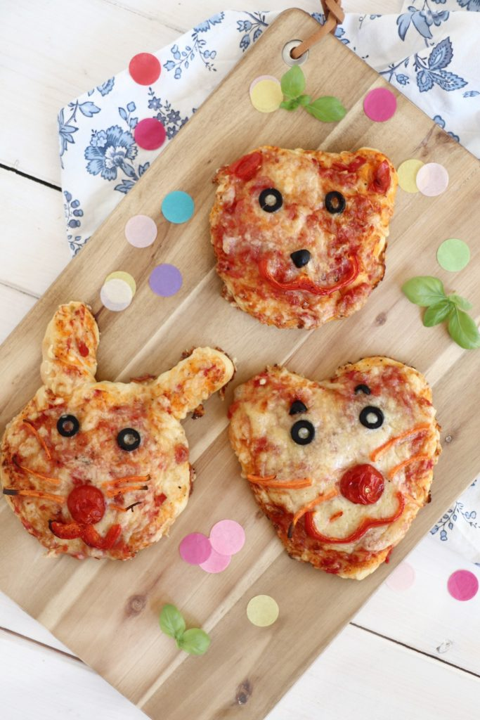 Rezept Kinderpizza backen