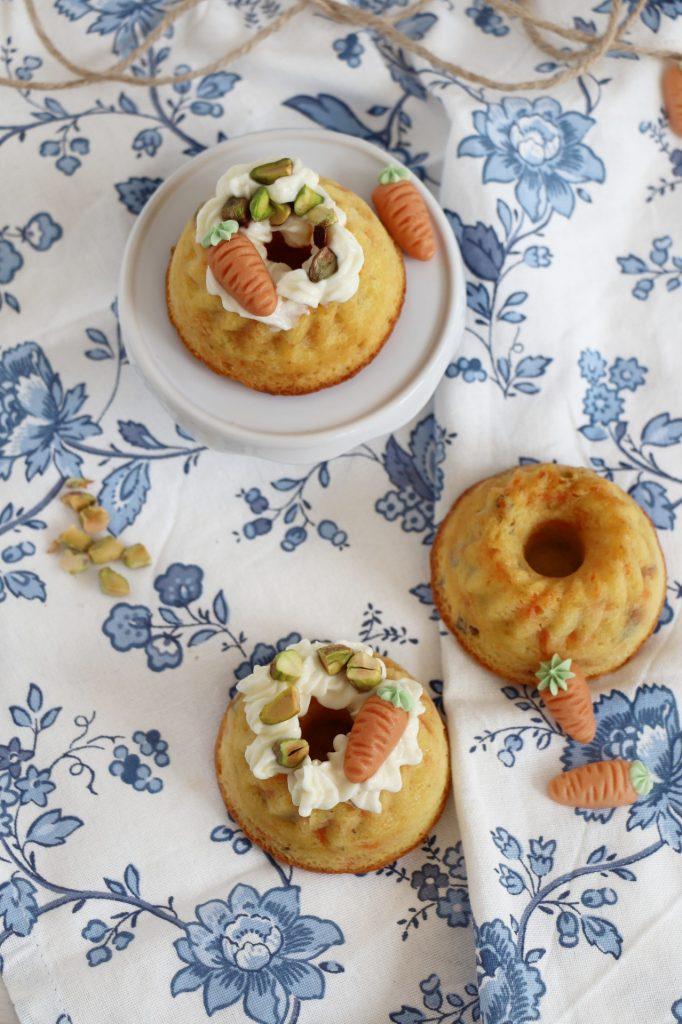 Rezept Möhrenkuchen ohne Nüsse