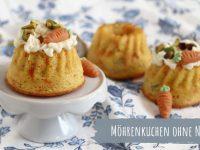 Rezept: Möhrenkuchen als kleiner Gugelhupf