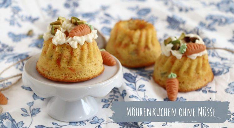 Rezept Möhrenkuchen ohne Nuss