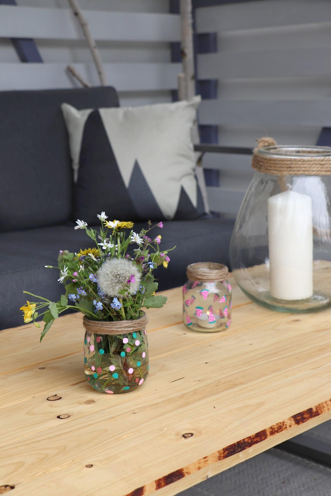 Upcycling Ideen Deko Lavendelblog