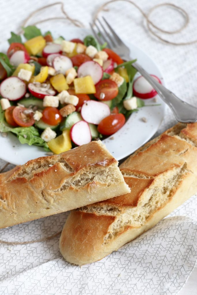 Baguettes backen Rezept