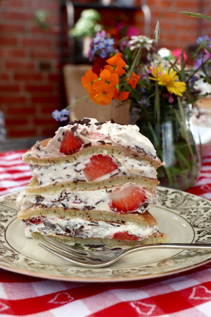 Pfannkuchen Torte