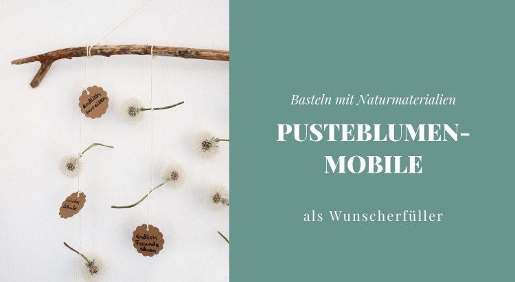 Pusteblumen-Mobile basteln