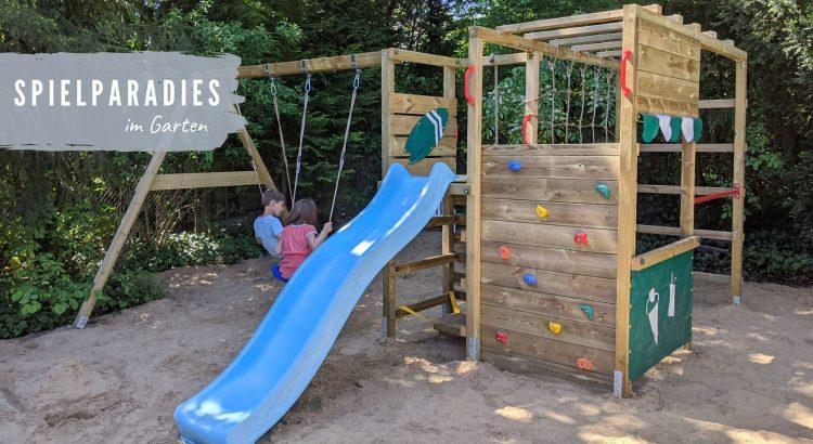 Spielecke Garten Ideen