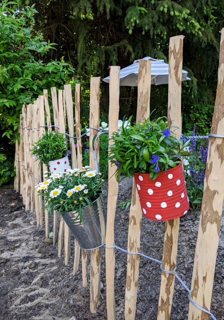 Dosen DIY Garten