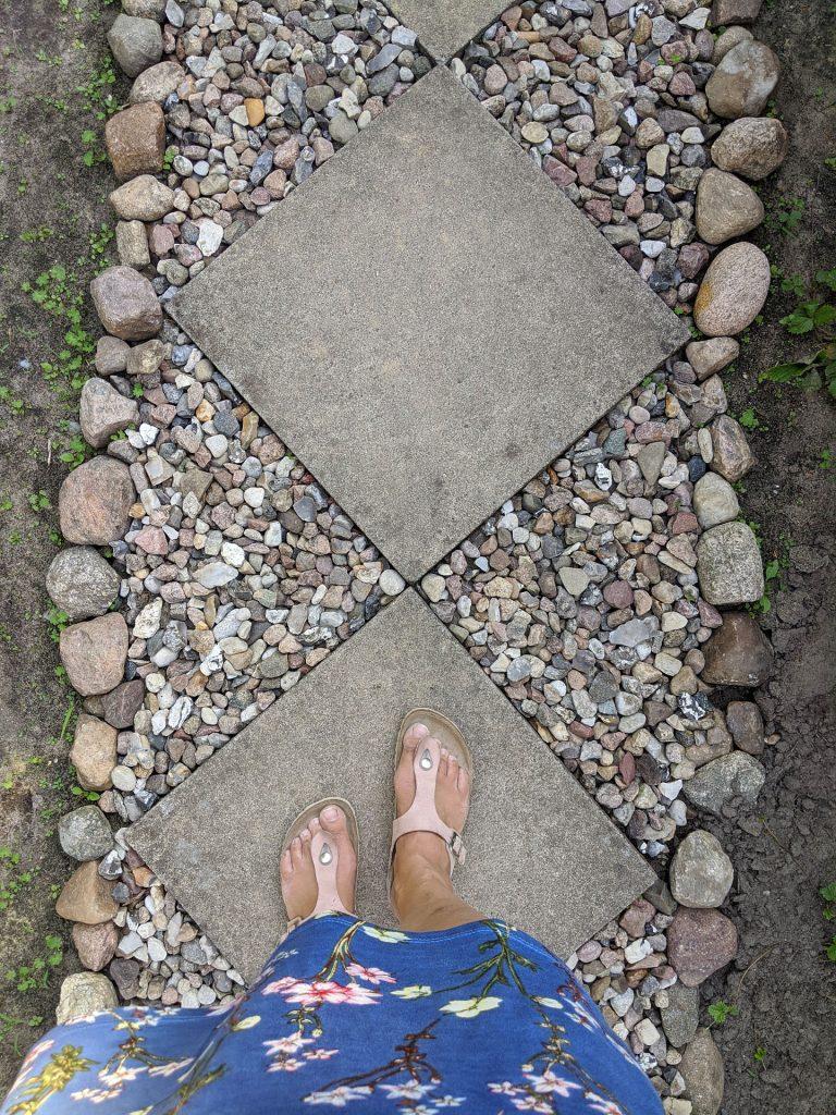 Gartenweg anlegen Ideen