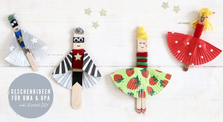 Eisstiel-Figuren DIY