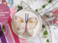 Schmetterlingskuchen - schneller Geburtstagskuchen
