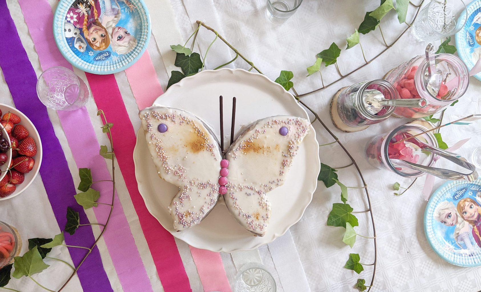 Schmetterlingskuchen Rezept