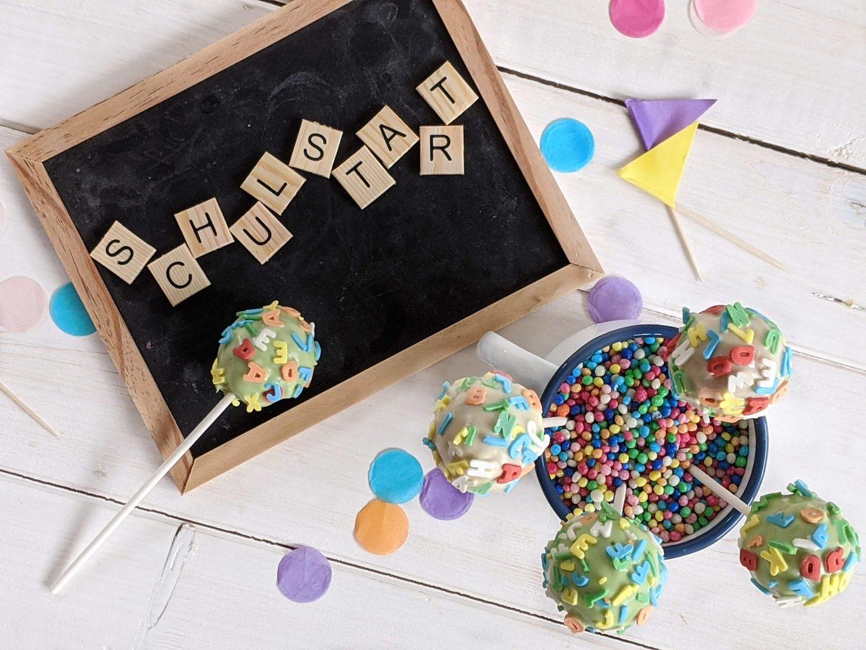 Buchstaben Cake Pops